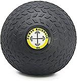 POWER GUIDANCE - Slam Ball Wall Ball Médecine Ball avec Surface texturée pour Une Prise en Main Facile, et lestée en Caoutchouc pour Cross-Training,Exercices Fitness, 10kg