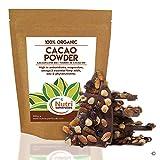 POUDRE DE CACAO BIO - Chocolat noir de première qualité - Nutritif et riche en magnésium - Idéal pour la cuisine ou les barres protéinées - 400g