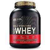 Optimum Nutrition Gold Standard 100% Whey Protéine en Poudre avec Whey Isolate, Proteines Musculation Prise de Masse, Double-Rich Chocolat, 73 Portions, 2.26kg, l'Emballage Peut Varier