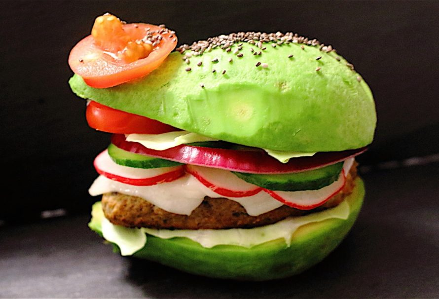 Recette Healthy : Le chicken Avocado Burger