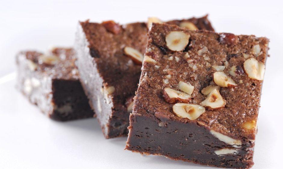 Brownie healthy au chocolat noir et aux noix