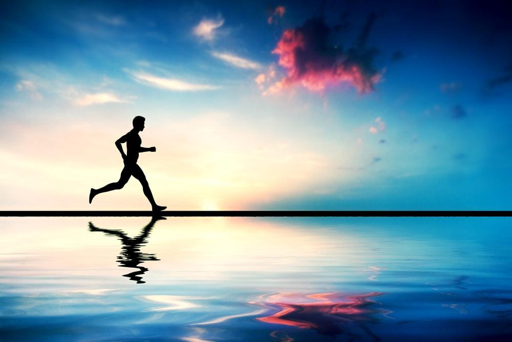 alimentation course à pied