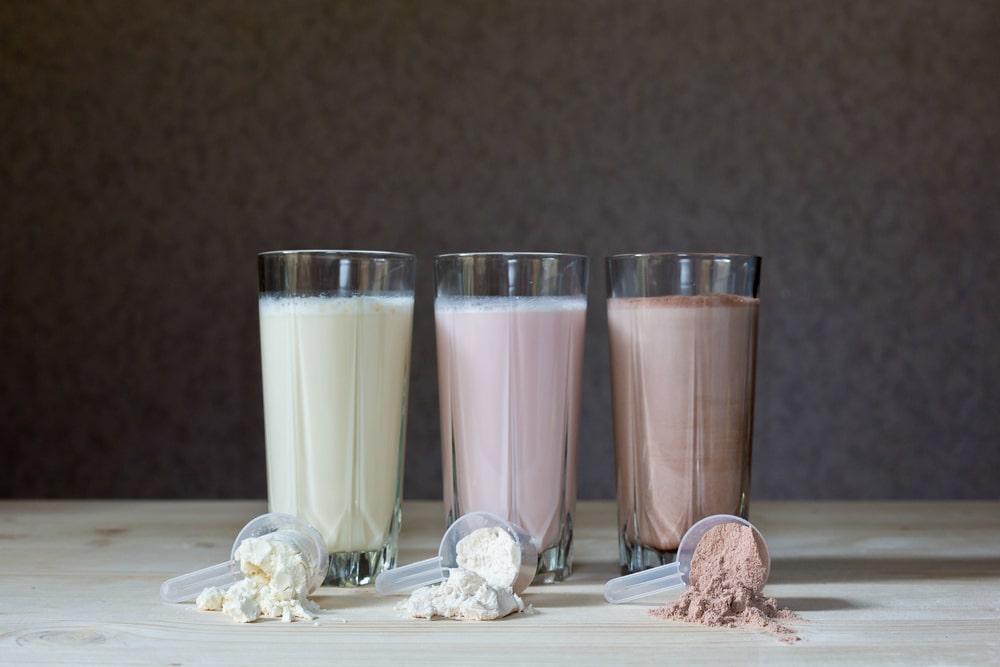 protéines de lait