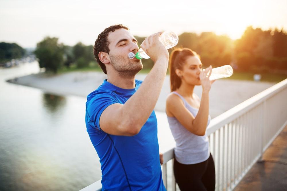 récupération et hydratation